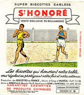 BUVARD(BISCOTTE SAINT HONORE) DONVILLE(ATHLETISME) - Biscottes