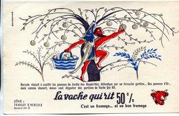 BUVARD(FROMAGE LA VACHE QUI RIT) - Buvards, Protège-cahiers Illustrés