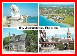 CPSM/gf ST. AUGUSTINE (Etats-Unis)  Multivues....H405 - St Augustine