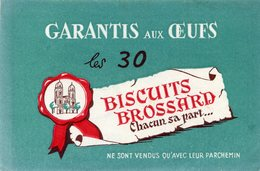 BUVARD(BISCUIT BROSSARD) - Buvards, Protège-cahiers Illustrés
