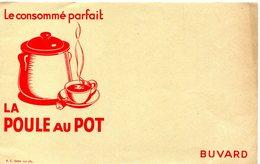 BUVARD(POULE AU POT) - Buvards, Protège-cahiers Illustrés