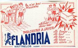 BUVARD(MACHINE A LAVER FLANDRIA) - Vloeipapier
