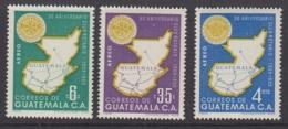 9.- GUATEMALA 1956 50th ANNIVERSARY OF THE INTERNATIONAL ROTARY CLUB - Guatemala