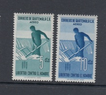 14.- GUATEMALA 1963 FREEDOM AGAINST HUNGER - AIRMAIL - Guatemala