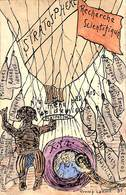 Ed. Indeherberg, Rhode St Genèse Caricature Illustr. Tromp Lamort - Rhode-St-Genèse - St-Genesius-Rode