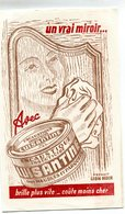 BUVARD(LUISANTINE LION NOIR) - Papel Secante