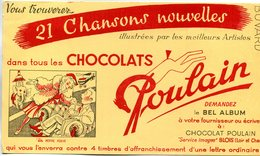 BUVARD(CHOCOLAT POULAIN) BLOIS - Cocoa & Chocolat