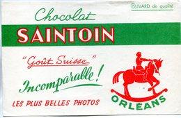 BUVARD(CHOCOLAT SAINTOIN) ORLEANS - Cocoa & Chocolat