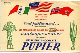 BUVARD(CHOCOLAT PUPIER) - Chocolat