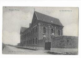 Vierset-Barse (Pr.Lg)  ( M 4495 )  Travaux Sur Le Trottoir Devant La Gendarmerie - Modave