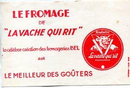 BUVARD(FROMAGE LA VACHE QUI RIT BEL) - Buvards, Protège-cahiers Illustrés