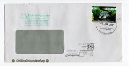 BRD - Privatpost - Umschlag -  Nordbrief - Marke: Europäischer Dachs (Meles Meles) - Briefmarken