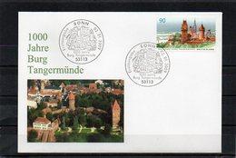 Deutschland, 2009, FDC (individuell) Mit Michel 2712, 1000 J. Burg Tangermünde - FDC: Sobres