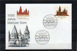 Deutschland, 2009, FDC (individuell) Mit Michel 2752, 1000 J. Mainzer Dom - [7] République Fédérale
