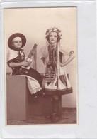 NIÑOS ENFANTS KIDS FOLK DRESSED CARNAVAL CARNIVAL CIRCA 1937-. BLEUP - Fotografie