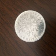 STUPENDA MONETA 5 FRANCHI - Coins & Banknotes