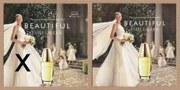CC Carte Parfumée 5x5 'LAUDER BEAUTIFUL' #3086 Perfume Card 2 Scans - Modernes (à Partir De 1961)