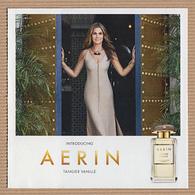CC Carte Parfumée 5x5 'AERIN MEDITERRANEN HONEYSUCKLE' #2963 Perfume Card 2 Scans - Modernes (à Partir De 1961)