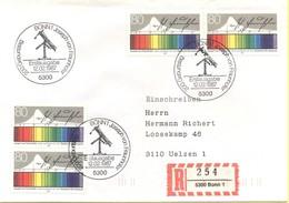GERMANIA - GERMANY - Deutschland - ALLEMAGNE - 1987 - 200. Geburtstag Joseph Von Fraunhofer - FDC - Bonn - Einschreiben - [7] Repubblica Federale
