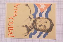 VIVA CUBA FIDEL CASTRO - Cuba
