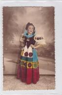 NIÑA GIRL FILLE DISFRAZ DISGUISE FOLK DRESSED COLORISE CIRCA 1900's-. BLEUP - Fotografie