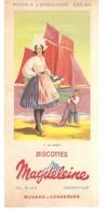 Buvard N°11 En Vendée Magdeleine Biscottes GRANVILLE - Zwieback