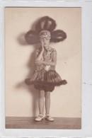FILLE GIRL NIÑA DISFRAZ DISGUISE BAILARINA DANSEUR CIRCA 1900's-. BLEUP - Fotografie
