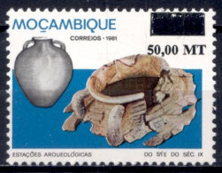 Mozambique 1994 Archeology History Archaeological Finds. Mi 1301 - Mozambique