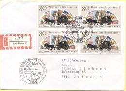 GERMANIA - GERMANY - Deutschland - ALLEMAGNE - 1986 - 50 Jahre Tag Der Briefmarke - FDC - Bonn - Einschreiben - Register - BRD