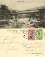 Belgian Congo, Railway Bridge Over Pozo River (1922) Postcard (58) - Belgian Congo - Other