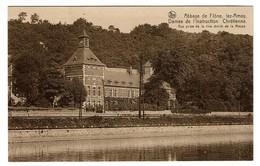 Abbaye De Flône, Lez-Amay - Dames De L'Instruction Chrétienne - Vue Prise De La Rive Droite De La Meuse - 2 Scans - Amay