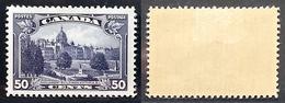 Canada 1935, Parliament Building, SG 350, MH OG F, Scott More Expensive - Canada