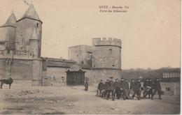 57 - METZ - PORTE DES ALLEMANDS - PERMISSIONNAIRES ALLEMANDS - Metz