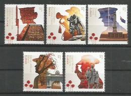 Australien 2018 , War Memorials - Postfrisch / MNH / (**) - 2010-... Elizabeth II