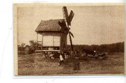 UKRAINIAN TYPES. MILL. - Windmills