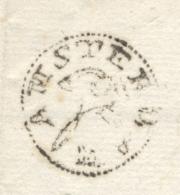 Nederland - 1789 - Complete Vouwbrief Van AMSTERDAM Naar Schiedam - PEP 6020-56 - Nederland