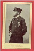 IMAGE CHROMO ANCIENNE DUC D ORLEANS LOUIS PHILIPPE ROBERT D ORLEANS 1869 1926 - Familles Royales