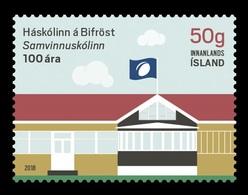 Iceland 2018 Mih. 1564 Bifrost University MNH ** - 1944-... Republic
