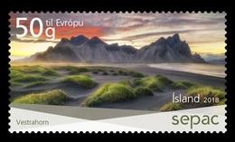 Iceland 2018 Mih. 1567 SEPAC. Spectacular Views. Vestrahorn Mountain MNH ** - Neufs