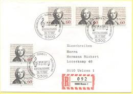 GERMANIA - GERMANY - Deutschland - ALLEMAGNE - 1987 - 200. Todestag Von Christoph Willibald Gluck - FDC - Bonn - Einschr - [7] Repubblica Federale