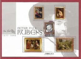 Belgien 2018  Mi.Nr. Block 223 (4811 / 4815) , Peter Paul Rubens - Postfrisch / MNH / (**) - Ungebraucht