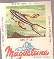 Buvard N°17 APHYOSEMION-BIVITATUM (Cameroun) Biscottes GRANVILLE - Zwieback