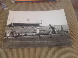 Spartakiada Football Stadium Hungary Czechoslovakia 1955 Vintage Star - Stadiums
