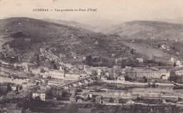 AUBENAS VUE GENERALE DU PONT D'UCEL (dil409) - Aubenas