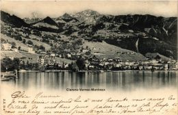 CPA CLARENS VERNEX MONTREUX SWITZERLAND (704785) - VD Waadt