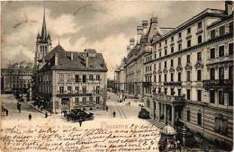CPA LAUSANNE Place St. Francois Et La Poste SWITZERLAND (704798) - VD Vaud