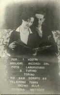 """1046 """" PUBBLICITA' FOTO LABORATORIO S. TURIN - TORINO """" CARTOLINA POSTALE  NON SPED. - Pubblicitari"""