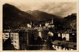 CPA SION Et Le Cole Du Ravyl SWITZERLAND (704854) - VS Valais