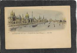 Paris,France-Exposition,Perspective Des Palais Etrangers 1900 - Mint Antique Postcard - Frankreich