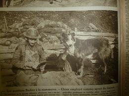 """1918 LE MIROIR:Chien Agent De Liaison;Révolution Russe;Arras;L' AMERICA De La """"White Star Line"""";Boulangères British-Army - Riviste & Giornali"""
